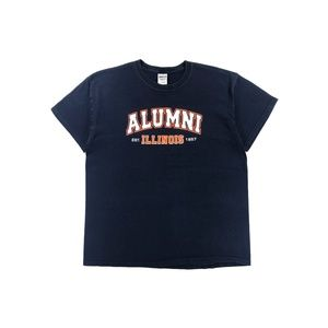Men's University Of Illinois Alumni T-Shirt Size L